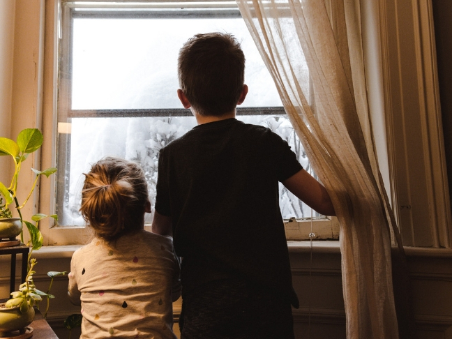 moving and renovating with children