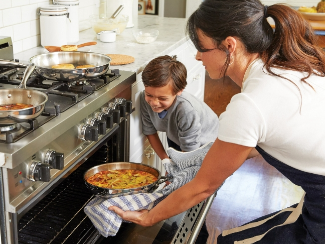 safety tips when cooking with kids