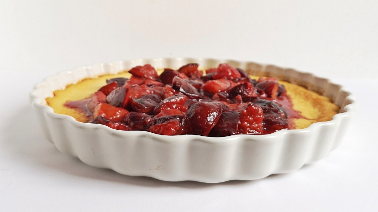 turmixolt meggyes pite recept