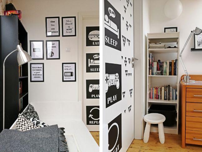 élhető kamaszszoba újratervezés