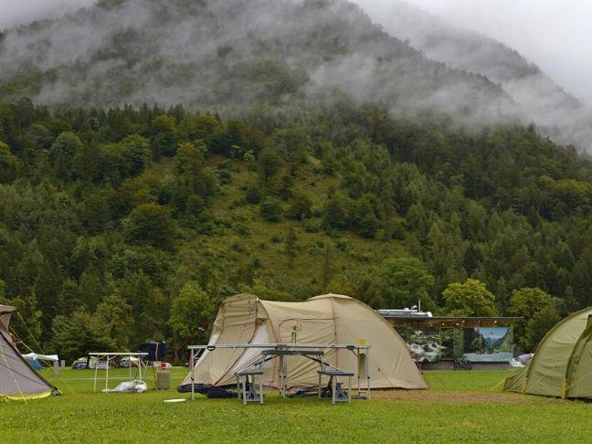 familyl camping in Austria