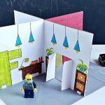 Szárnyra kel a fantázia – 3D-s papírépület egyszerűen