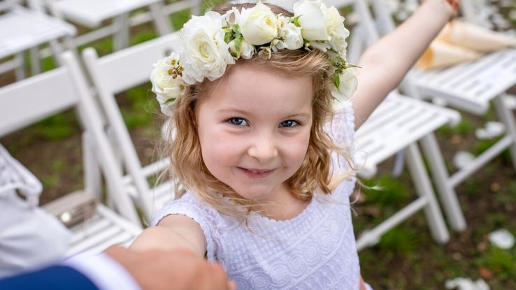 children in wedding experience