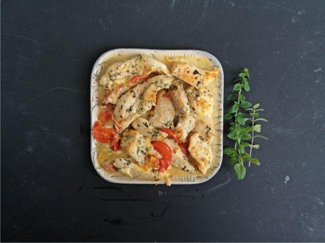 mediterrán csirkemell recept