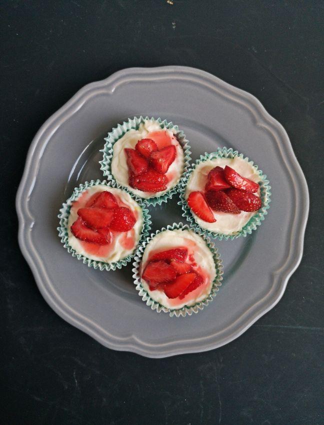 sütés nélküli mini sajttorta recept