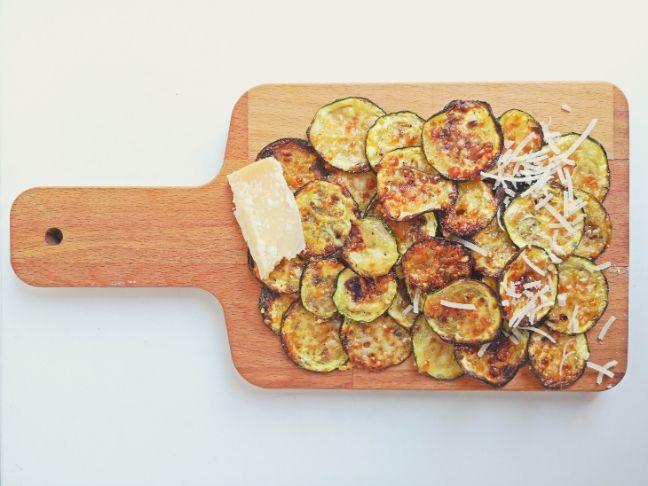 ropogós chips cukkiniből recept