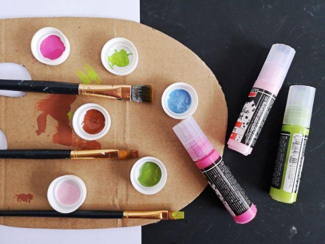 DIY festőpaletta