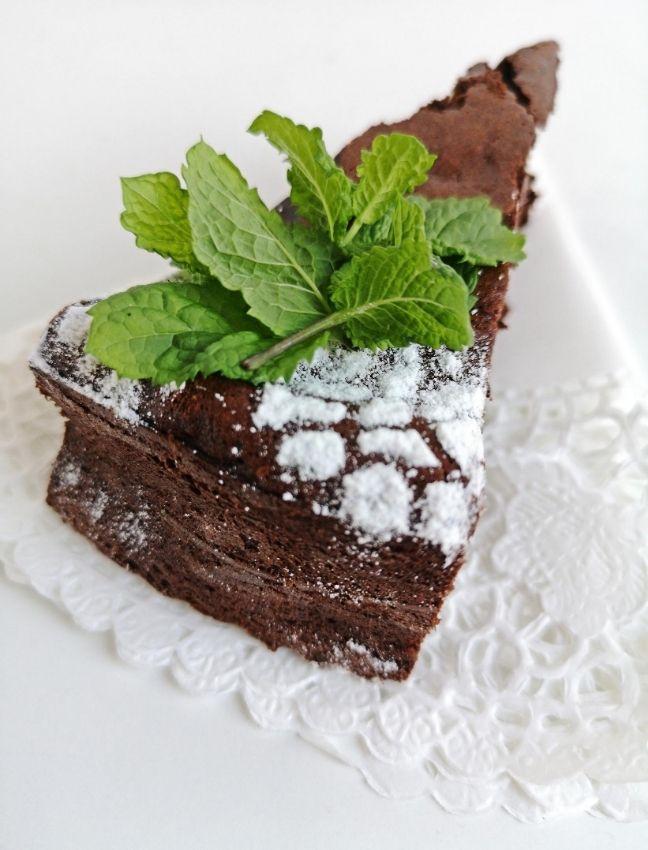 ünnepi lisztmentes csokitorta recept