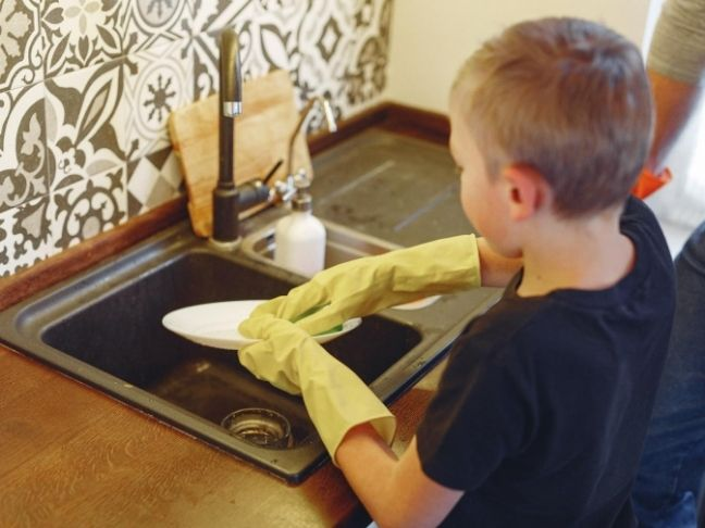 encourage kids to do chores