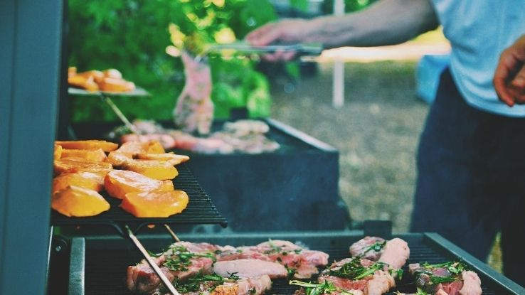 end-of-summer family BBQ