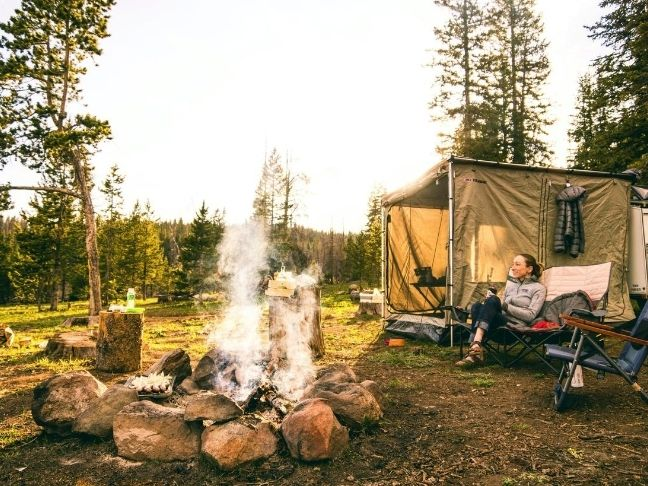 packing for family camping