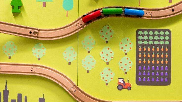 trains' impact on autistic children