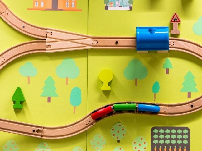 trains' impact on autistic children