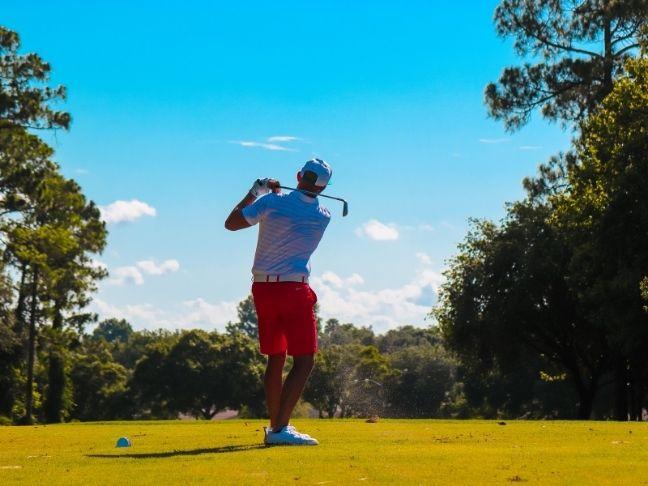 golf improves health