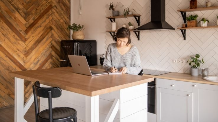work-from-home schedule