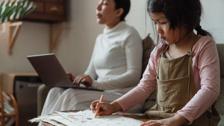 working moms independent kids