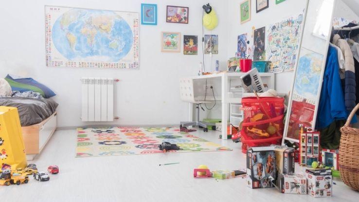 kids' bedroom decor