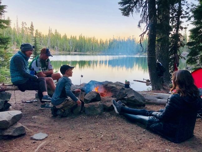 survival items for family camping