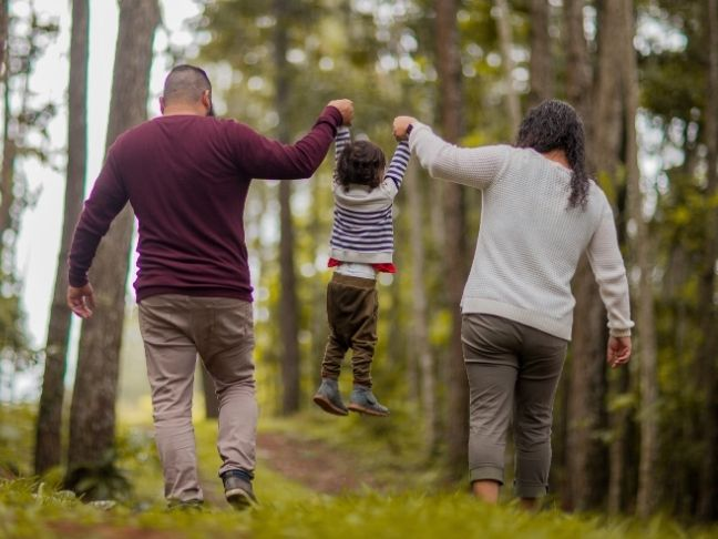 spend time outdoors with your family
