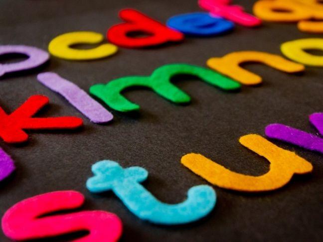 teach easily the alphabet