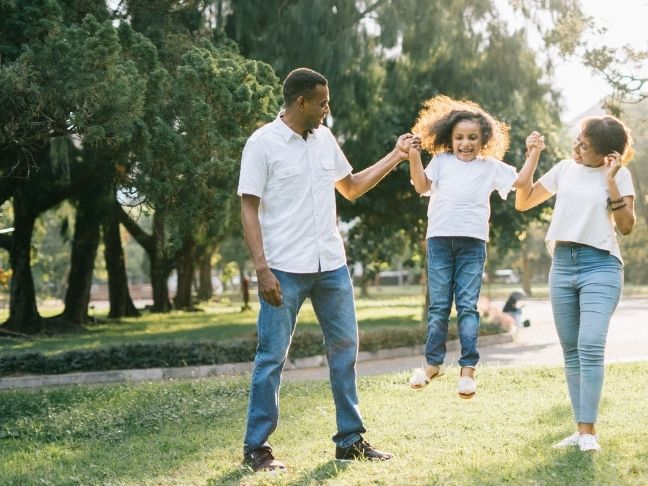 healthy vision for family