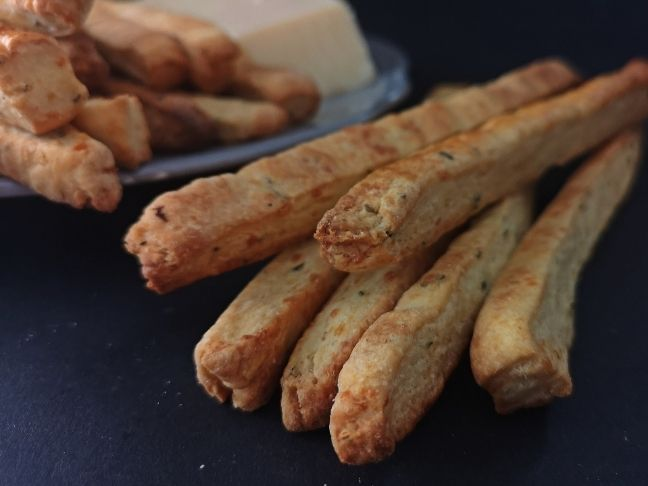 rozmaringos-parmezános sós rúd recept