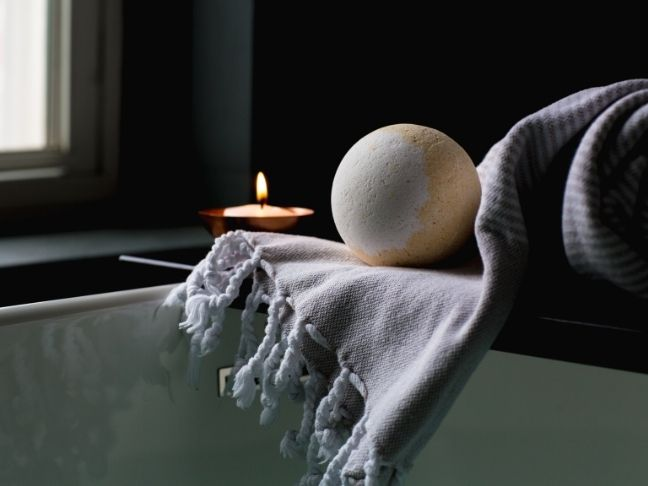 at-home spa day