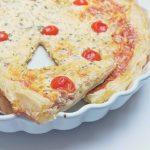 Tavaszi egyszerűség – sonkás-medvehagymás quiche