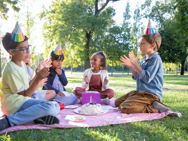 child's birthday while co-parenting