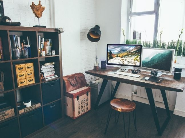 organize your home desk