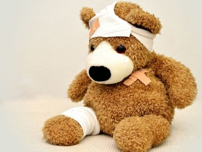 kids' outdoor injuries