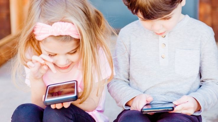 screen time for small children