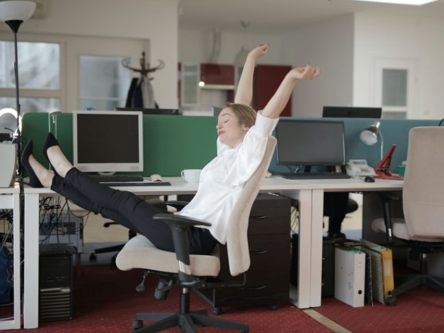 healthy habits in work