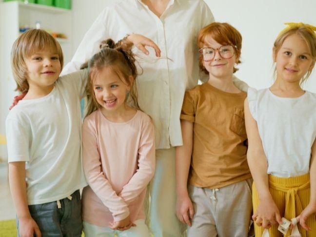 teaching kindergarten boys