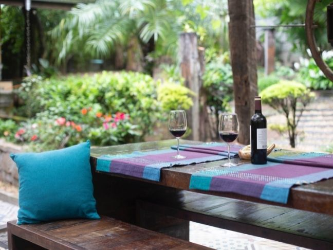 outdoor space for summer