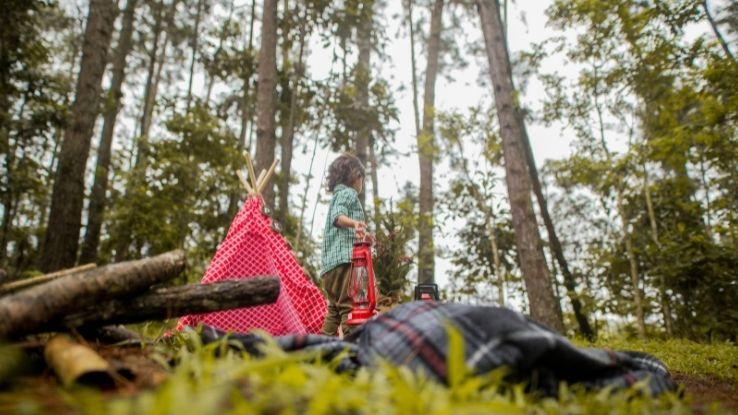 take kids camping