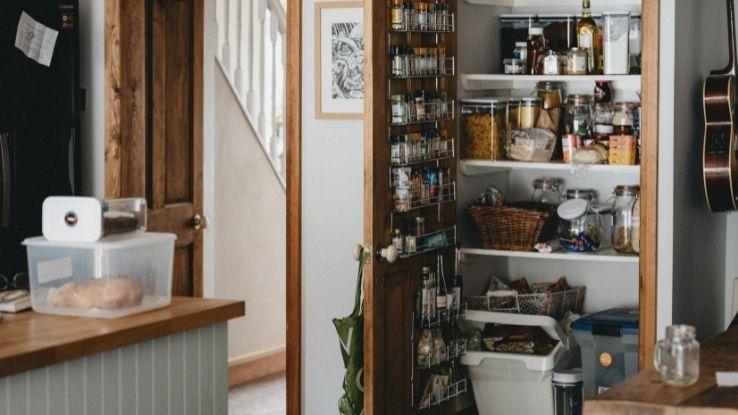 organize kid-safe pantry