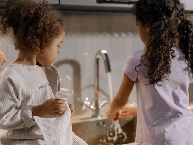 kids do chores