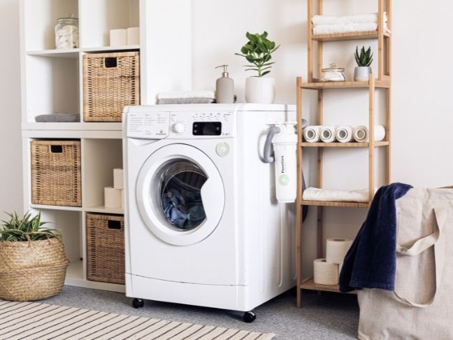 laundry room's makeover